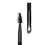 Manufacturers spot direct sales original export to Europe and the United States market wooden handle makeup brush eyelash curling double eyebrow brush